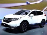 Honda ra mắt CR-V Hybrid với công nghệ tiên tiến