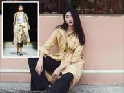 Ngày đầu ra quân tại London Fashion Week, Kim Nhung chễm trệ xuất hiện trên tạp chí Vogue danh giá