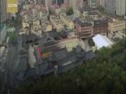 TQ: Dịch chuyển cả ngôi chùa nặng 2.000 tấn đi chỗ khác