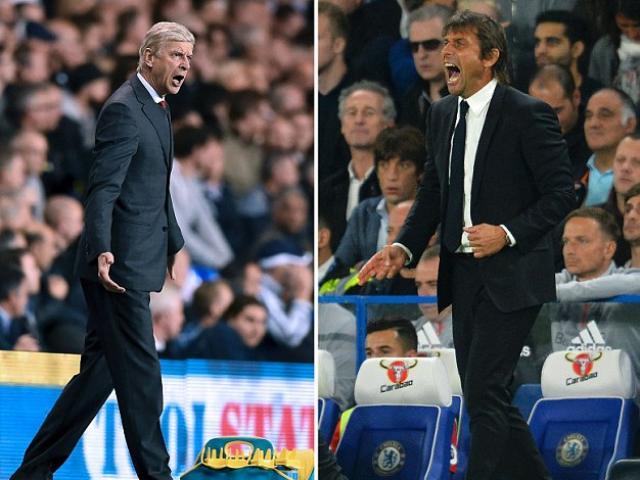 Hậu đại chiến Chelsea – Arsenal: Wenger đòi 3 điểm, Conte cay cú thẻ đỏ