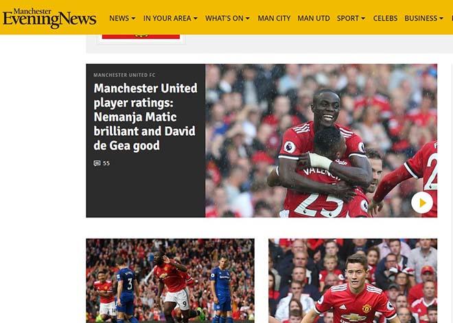MU đại thắng 4 sao: Báo Anh thán phục Mourinho, ca ngợi Lukaku - 5
