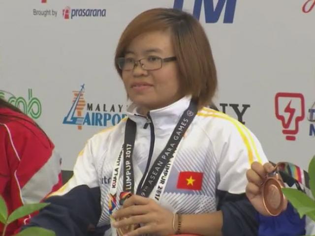 """""""Địa chấn"""" Para Games: 2 lực sỹ Việt phá sâu kỷ lục đại hội 7"""