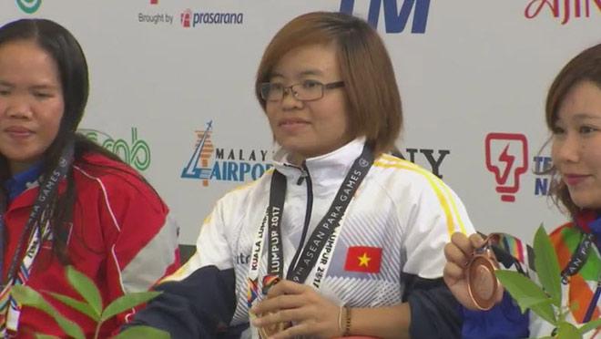 Kình ngư Việt giật 4 HCV, phá 1 kỷ lục ở ASEAN Para Games ngày 2 2
