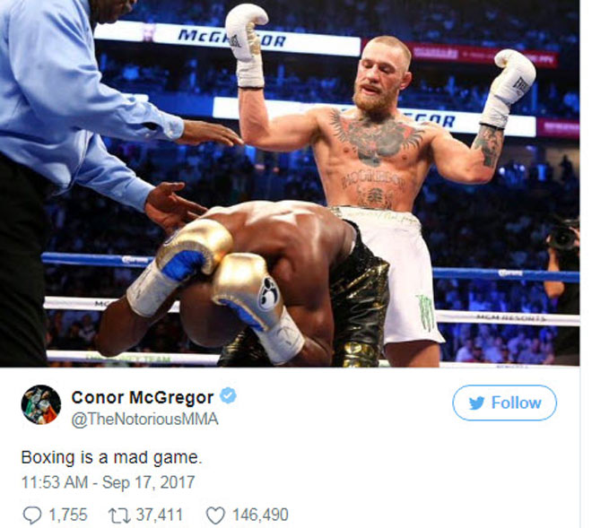 """Trò hề"" trận Golovkin-Alvarez: McGregor & UFC hả hê nhạo báng boxing 2"