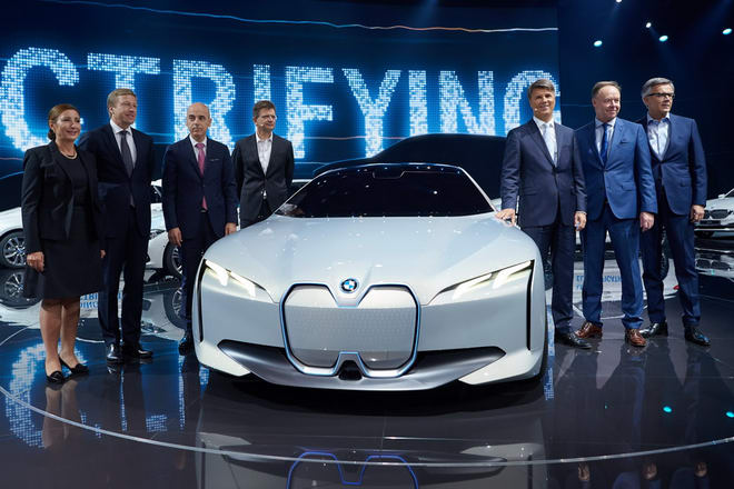 Chiêm ngưỡng BMW i Vision Dynamics tuyệt đẹp - 1