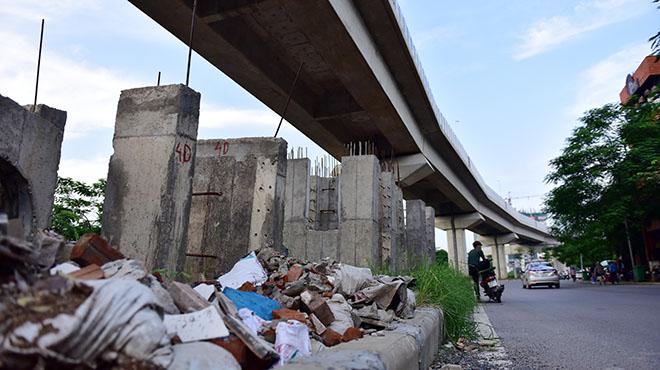 Chậm tiến độ, đường sắt trên cao ngàn tỉ hoá bãi rác lộ thiên - 6