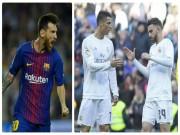 """Đua Giày vàng: Kém Messi, Ronaldo  """" trút giận """"  lên đàn em cứu tinh"""