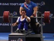 """Thể thao - """"Địa chấn"""" Para Games: 2 lực sỹ Việt phá sâu kỷ lục đại hội"""