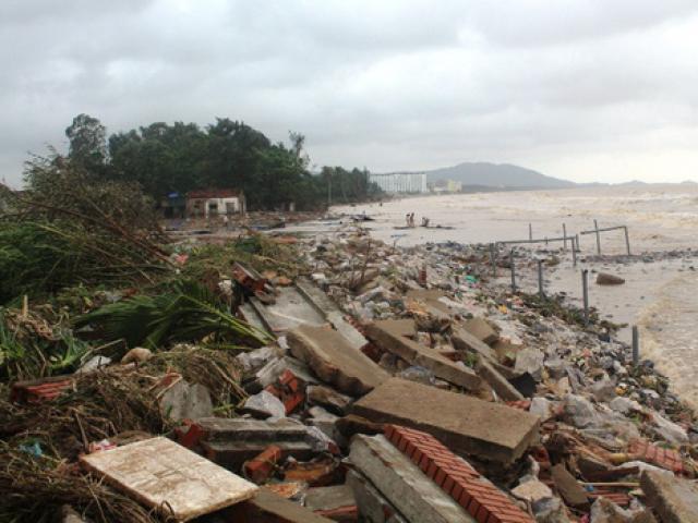 Thanh Hóa phản hồi về thiệt hại 1.000 tỉ đồng trong bão số 10
