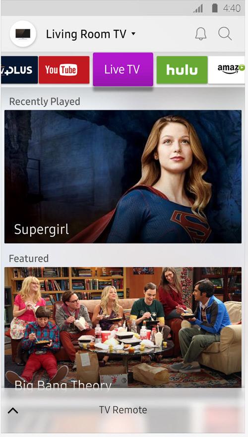 """Thực hiện """"ảo thuật"""" độc đáo bằng Smart View trên TV Samsung - 2"""