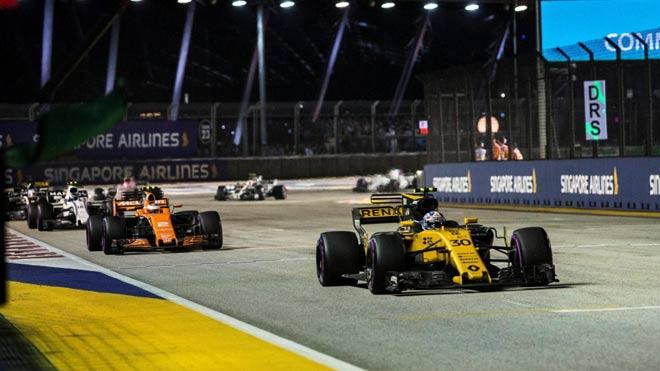 """Đua xe F1, Singapore GP: """"Thần may mắn"""" ngoảnh mặt, cơn ác mộng màu đỏ 3"""