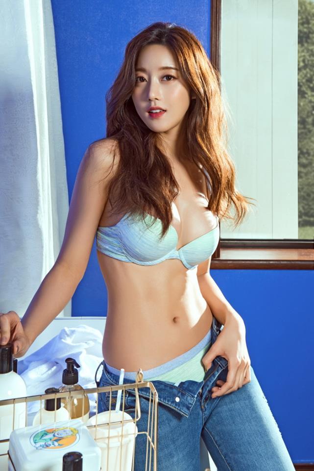 Trên hở dưới kín, thiên thần Hàn Quốc khiến cánh mày râu ngẩn ngơ - 1