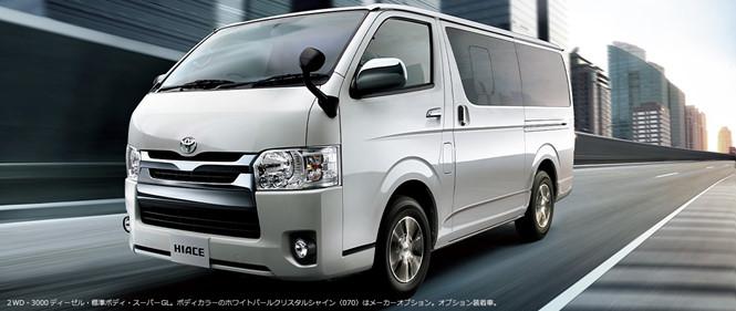 Toyota Hiace đời mới 2017 ra mắt