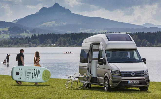 """Volkswagen California XXL: Xe dành cho dân """"phượt"""" - 2"""