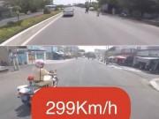 Biker tung clip  299Km/h  chính thức nhận cái kết  đắng