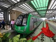 Bao giờ vận chuyển toàn bộ đoàn tàu Cát Linh- Hà Đông về Hà Nội?