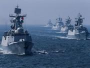 Nga-Trung tập trận hải quân rầm rộ sát Triều Tiên làm gì?