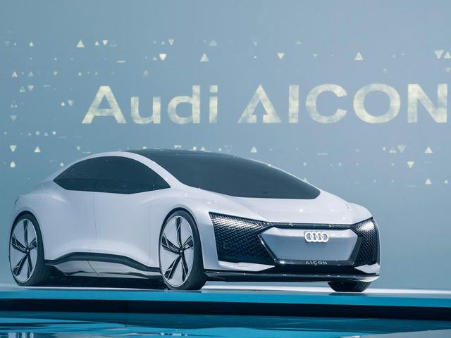 Audi Aicon: Xe sang siêu hiện đại tự lái 100% - 1