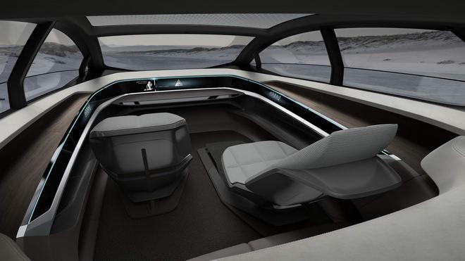 Audi Aicon: Xe sang siêu hiện đại tự lái 100% - 2