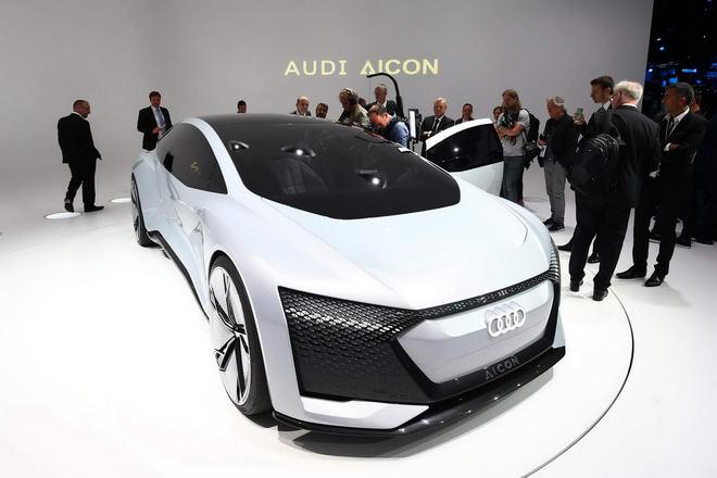 Audi Aicon: Xe sang siêu hiện đại tự lái 100% - 3