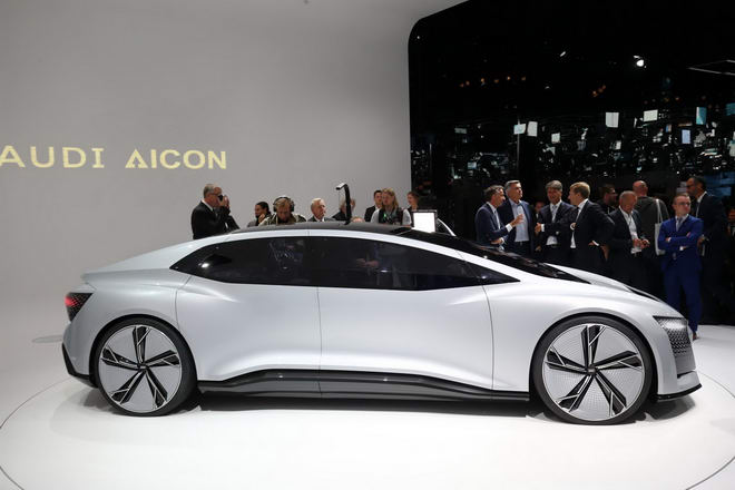 Audi Aicon: Xe sang siêu hiện đại tự lái 100% - 4