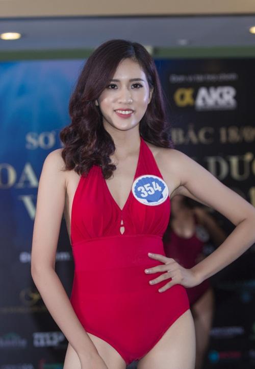 10 cô gái miền Bắc đẹp nhất Hoa hậu Đại Dương khoe dáng với bikini