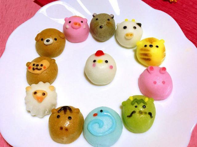 Mê mẩn những chiếc bánh bao hình thú cưng siêu dễ thương