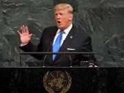 """Ông Trump đe dọa  """" hủy diệt hoàn toàn """"  Triều Tiên"""
