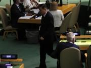 Đại sứ Triều Tiên hành động lạ trước khi Trump phát biểu ở LHQ