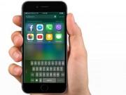 Công nghệ thông tin - Thủ thuật iOS 11: Cách kích hoạt bàn phím một tay cực tiện dụng