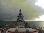Xem siêu chiến hạm Nga phóng tên lửa to bằng chiến đấu cơ