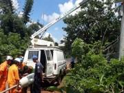 Một thanh niên tử vong do đi vệ sinh cạnh cột đèn bị hở điện