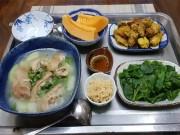 """Mẹ chồng tận tâm  """" nhất Vịnh Bắc Bộ """"  kể chuyện nấu ăn cho con dâu ở cữ"""