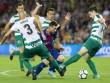"""Barcelona - Eibar:  """" Siêu nhân """"  bắn phá kinh hoàng"""