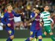"""Messi 9 bàn/5 trận: Báo chí thế giới choáng váng, gọi là  """" vị Thần """"  ở Barca"""