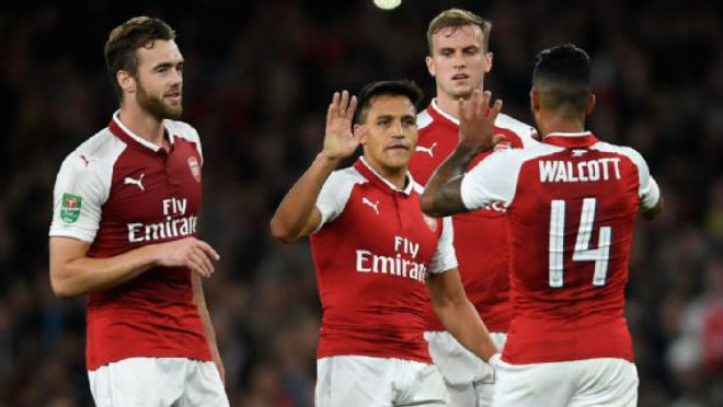 """Arsenal - Doncaster: Cú đấm cứu rỗi """"dàn chân gỗ"""""""