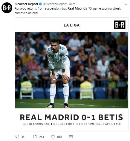 Real thua sốc Betis, đứt chuỗi kỷ lục: Triệu fan Barca trêu chọc - 7