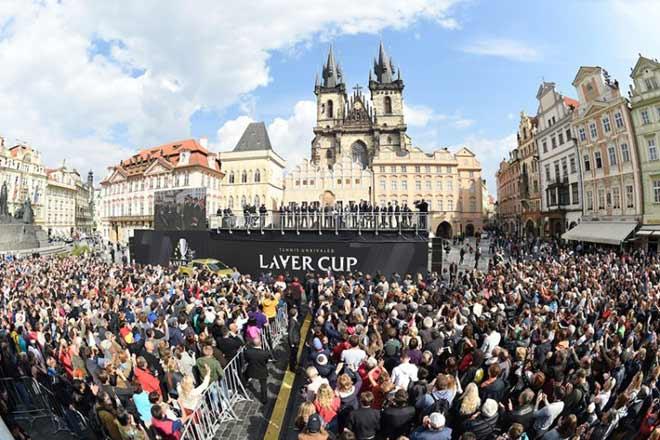 """Federer - Nadal """"hợp binh"""" đại chiến toàn siêu sao tennis tại Laver Cup 8"""
