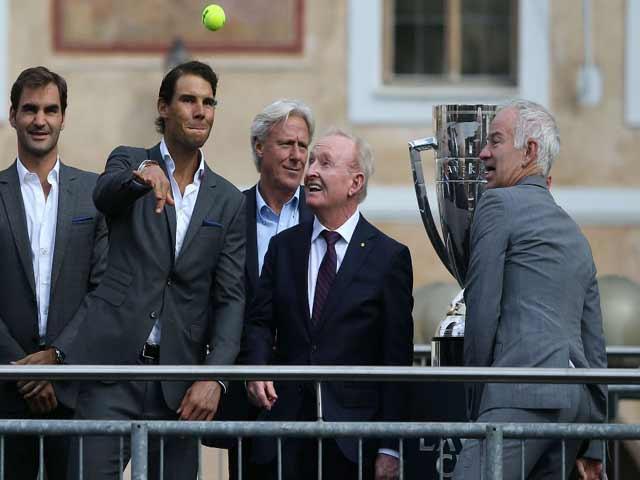 """Federer đánh đôi với Nadal: Khi """"Messi - Ronaldo"""" song tấu 4"""