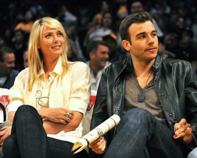Sharapova & quan hệ với bạn trai: Hẹn hò 7 chàng, bắt cá hai tay vẫn ế 3