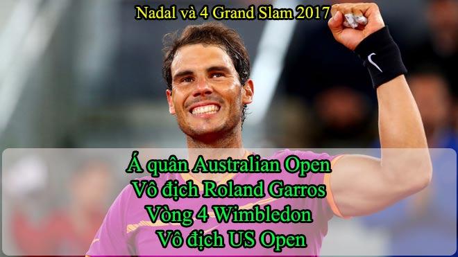 """Nadal: 20 cú đánh """"rung chuyển"""" Grand Slam, san bằng thế giới 1"""