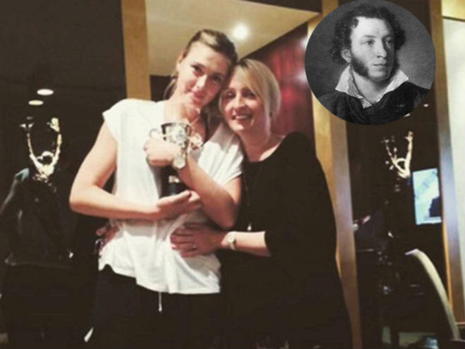 Vén màn bí ẩn mỹ nhân Sharapova: Đọc thơ tình, trui rèn bản lĩnh 2