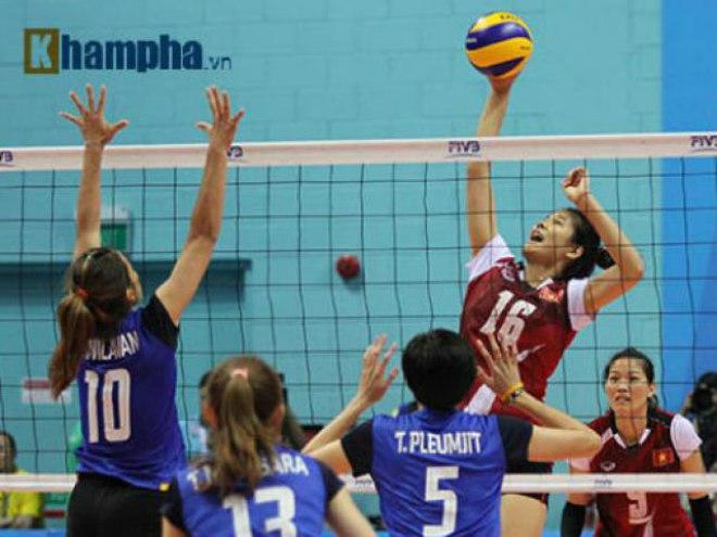 Chi tiết bóng chuyền nữ Thái Lan - Việt Nam: Sai lầm đáng tiếc (KT) 10