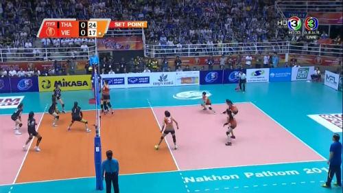 Chi tiết bóng chuyền nữ Thái Lan - Việt Nam: Sai lầm đáng tiếc (KT) 5