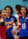 Chi tiết bóng chuyền nữ Thái Lan - Việt Nam: Sai lầm đáng tiếc (KT) 1