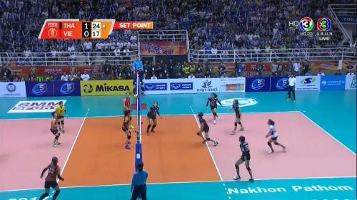 Chi tiết bóng chuyền nữ Thái Lan - Việt Nam: Sai lầm đáng tiếc (KT) 6