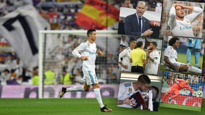 Real sớm hụt hơi La Liga: Vì Barca, trọng tài hay vì tội đồ Zidane? - 1