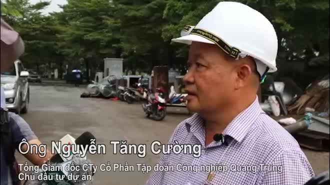 """Clip: """"Quái vật"""" hút nước ngập lênh láng trên phố Sài Gòn trong """"chớp mắt"""""""