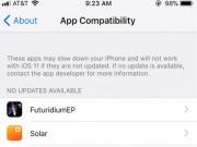 Công nghệ thông tin - Cách kiểm tra ứng dụng của bạn có tương thích với iOS 11 hay không