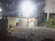Bé trai tử vong cạnh cống bê tông ven đường